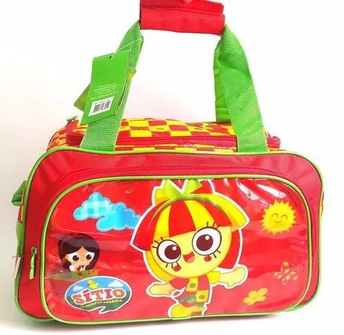 Bolsa infantil ou sacola de roupas sitio do picapau amarelo
