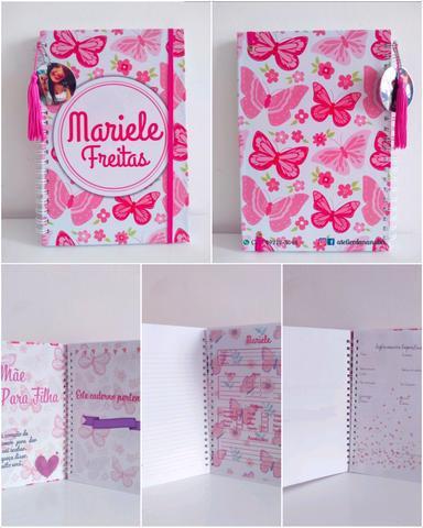 Cadernos personalizados como desejar