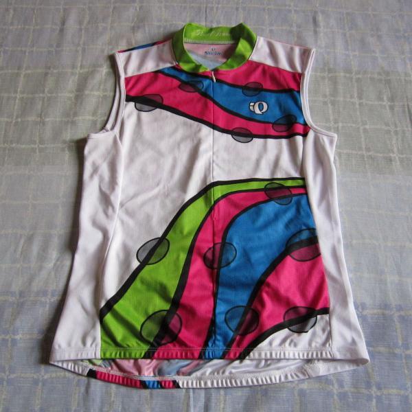 Camisa colete manga curta ciclismo bike pedal pearl izumi