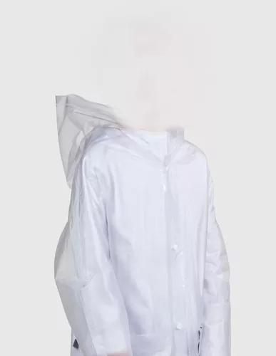 Capa de chuva infantil transparente resistente crianças