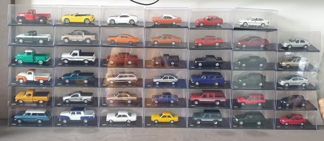 Coleção carrinhos chevrolet