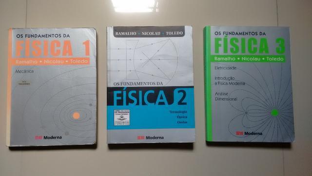 Fundamentos da física 1, 2 e 3 - (ramalho, nicolau e