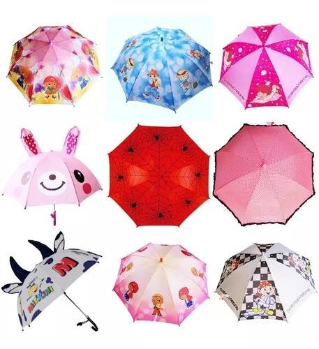 Guarda chuva infantil com apito 10 modelos