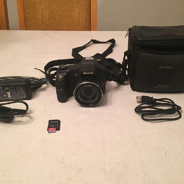 Kit câmera cyber shot hx200