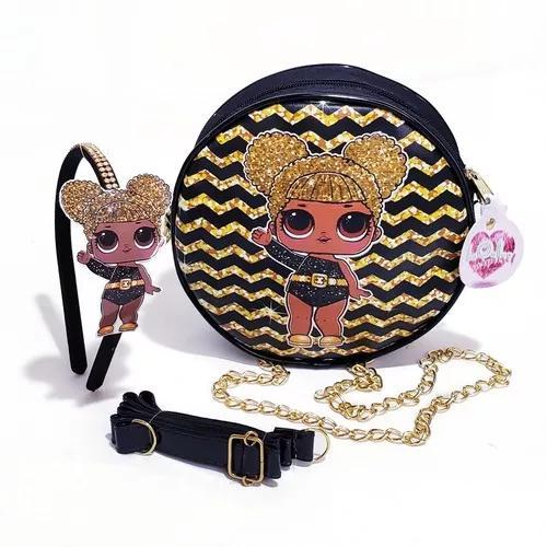 Kit bolsa + tiara da lol surprise