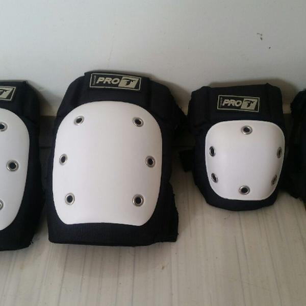 Kit proteção patins/ skates