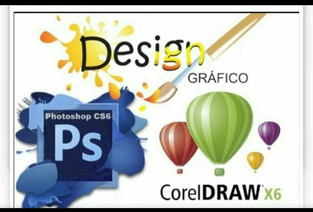 Kit design gráfico - photoshop + corel