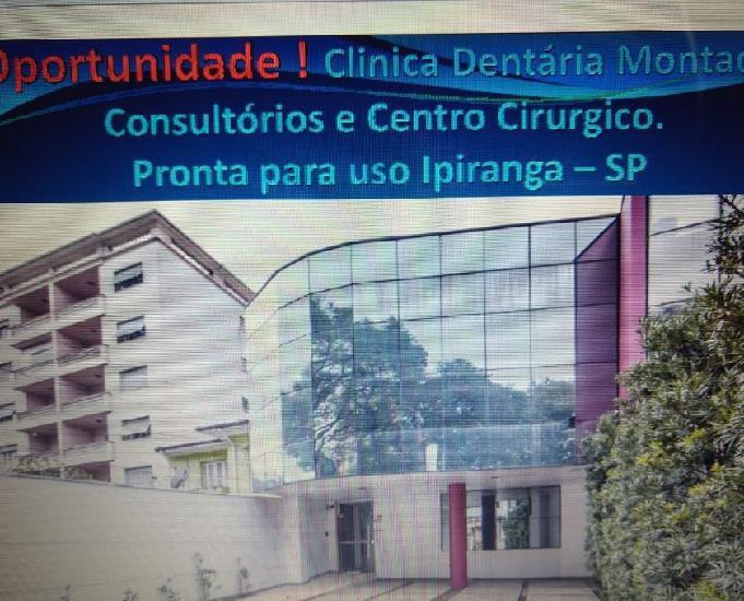Locação -clinica de odontologia montada (tudo novo) -reg.
