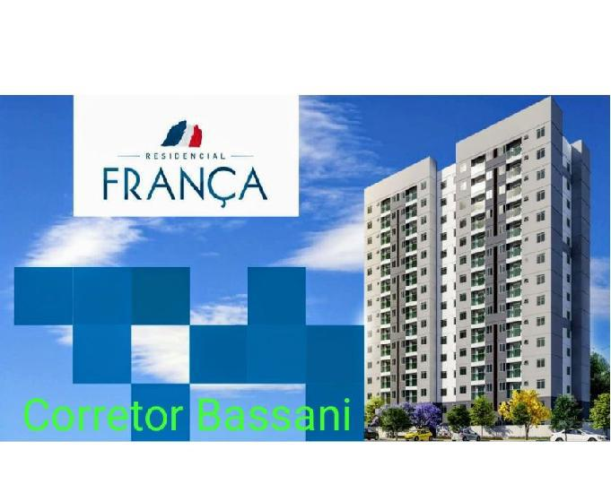 Lançamento frança residencial 2 qts, varanda, vaga
