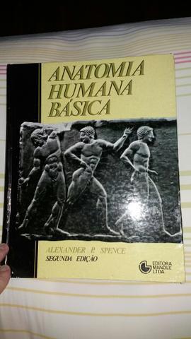 Livro anatomia humana básica - 2a edição