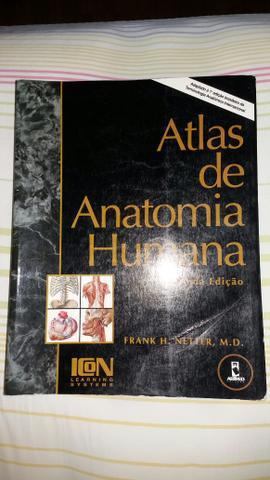 Livro atlas de anatomia humana - 2a edição