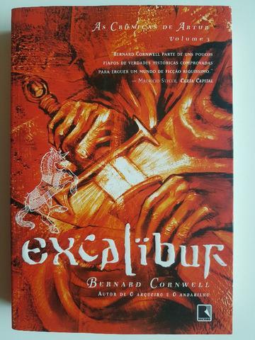 Livro excalibur - as crônicas de artur - vol. 3