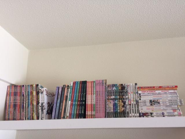 Lote 48 manga lbc,clamp:clamp,yuyu,rg veda,limit,ga rei,code