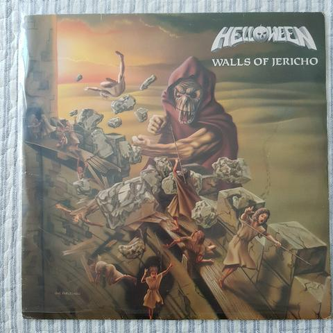 Lp / vinil helloween - walls of jericho (1985)