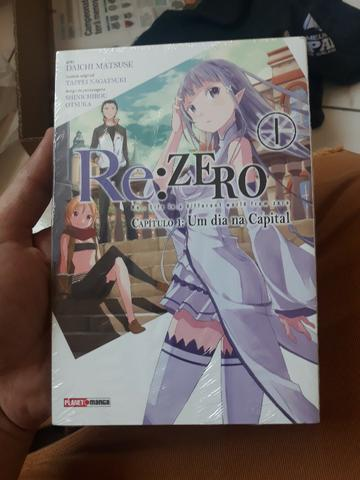 Mangá re: zero vol.1