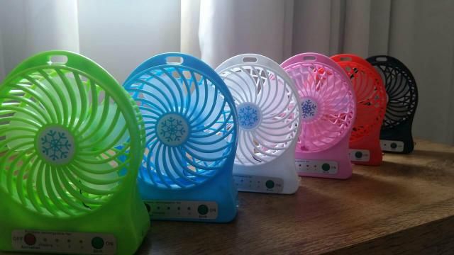 Mini ventilador de mão