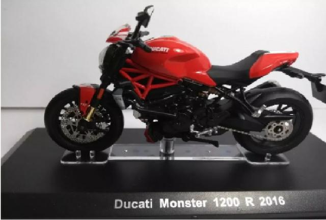 Miniatura Moto Ducati Monster 1200r 2016