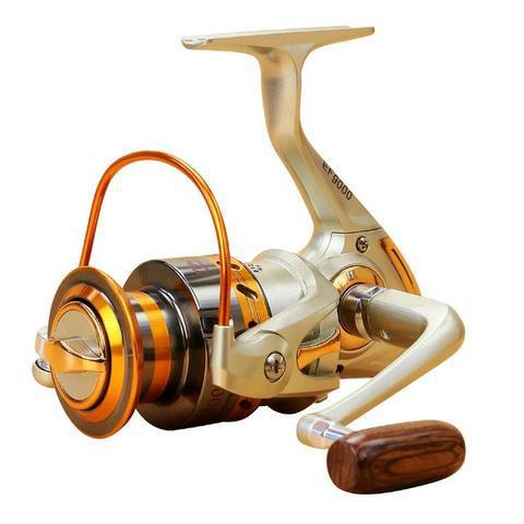 Molinete pesca profissional ax6000 o melhor em alto mar