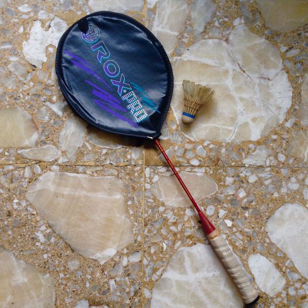Olimpíadas - raquete badminton roxpro