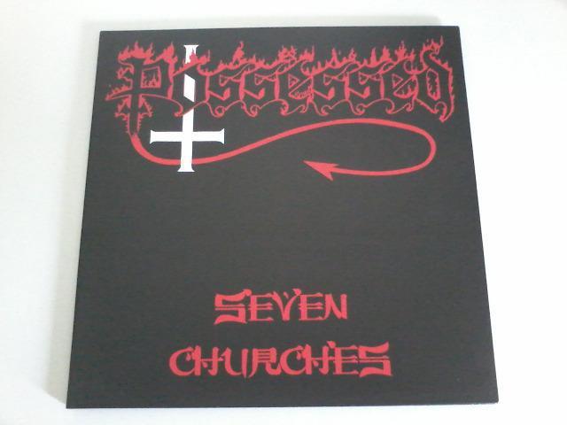 Possessed seven churches lp / vinil