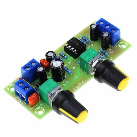 Pré amplificador crossover low pass subwofer 22 a300hz