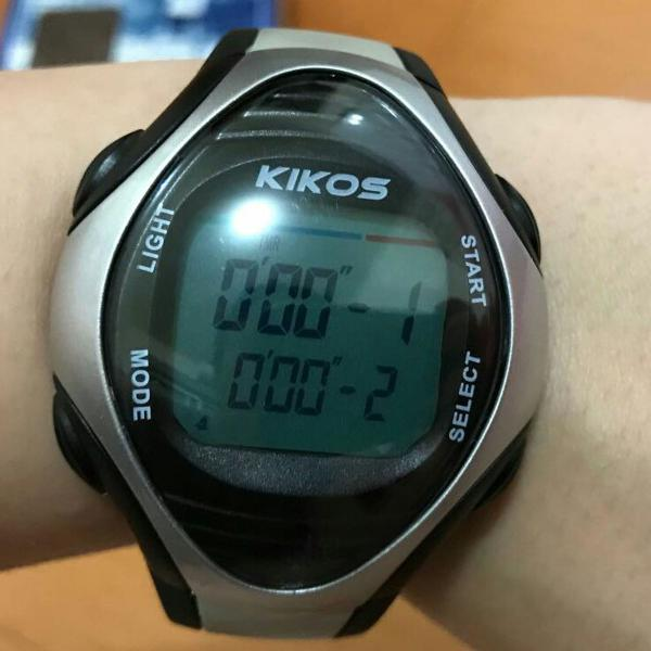 Relógio com monitor cardíaco kikos mc 800