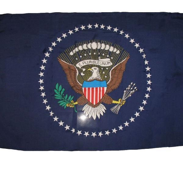 Bandeira presidencial cerimonial casa branca white house