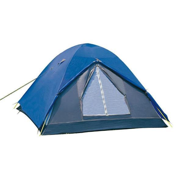 Barraca de camping nautika fox 3/4 pessoas c/ sobreteto