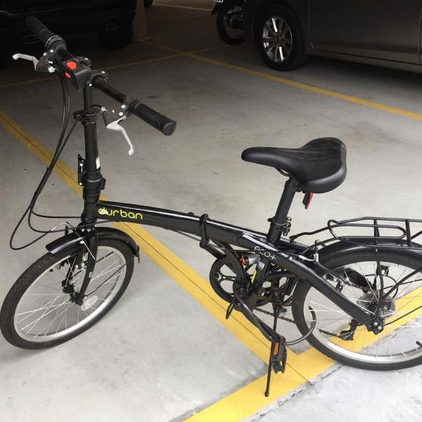 Bicicleta dobrável eco + durban