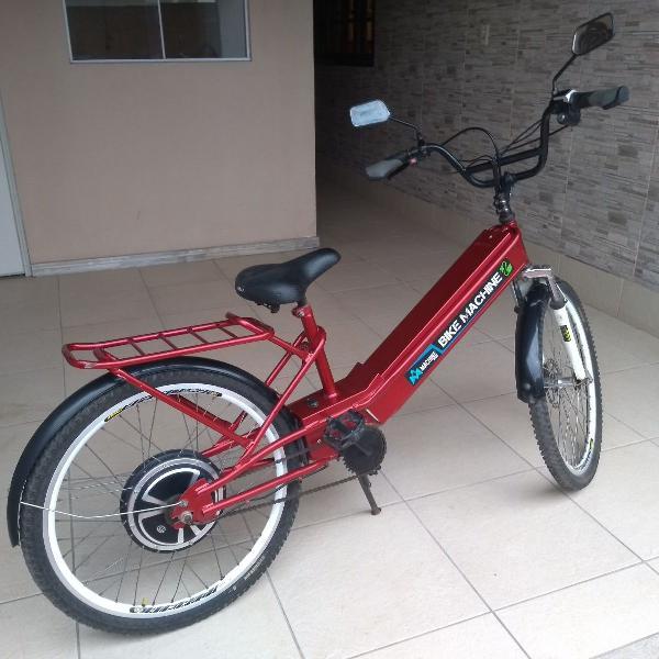Bicicleta elétrica 800w (bateria nova)