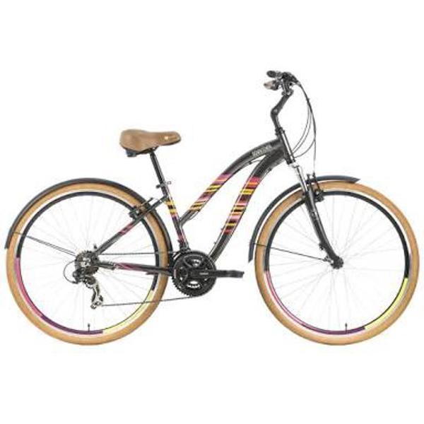 Bicicleta urbana tito downtown step through aro 700 21v