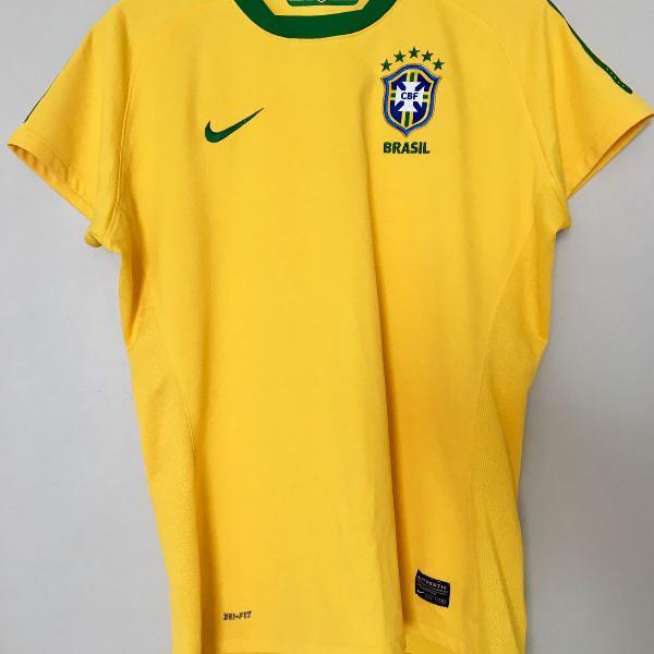 Blusa seleção brasileira original nike tamanho g