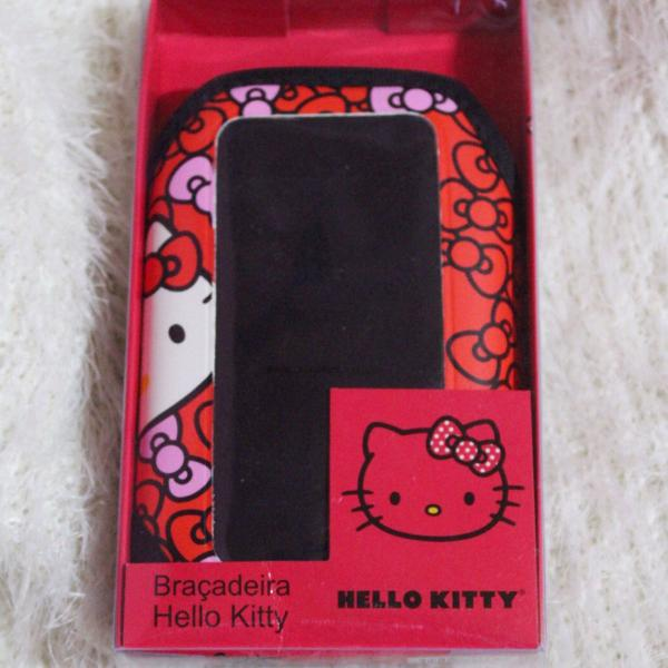 Braçadeira hello kitty