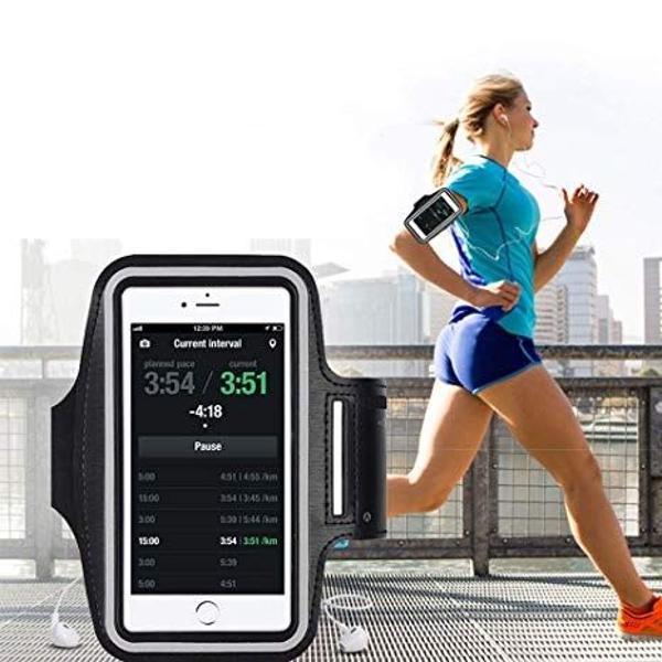 Braçadeira para celular corrida esportes