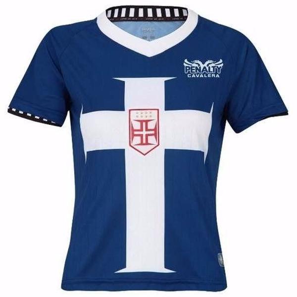 Camisa vasco da gama feminina cruz templária - penalty