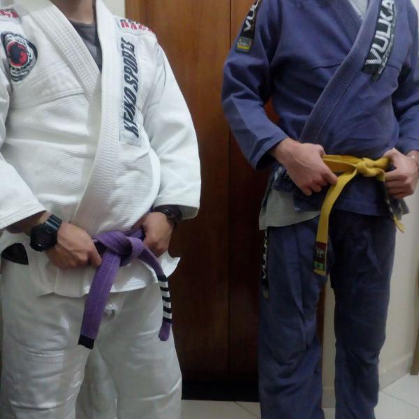 Kimonos de jiu-jitsu