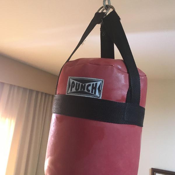 Kit boxe saco e luvas