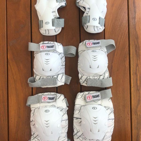 Kit proteção branco
