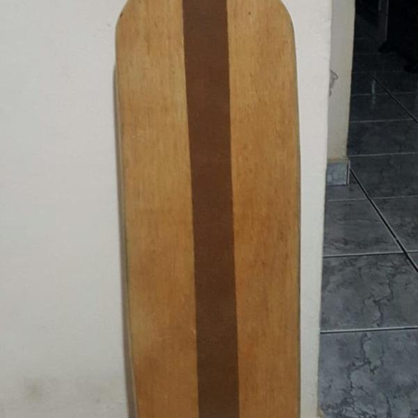 Longboard simétrico madeira