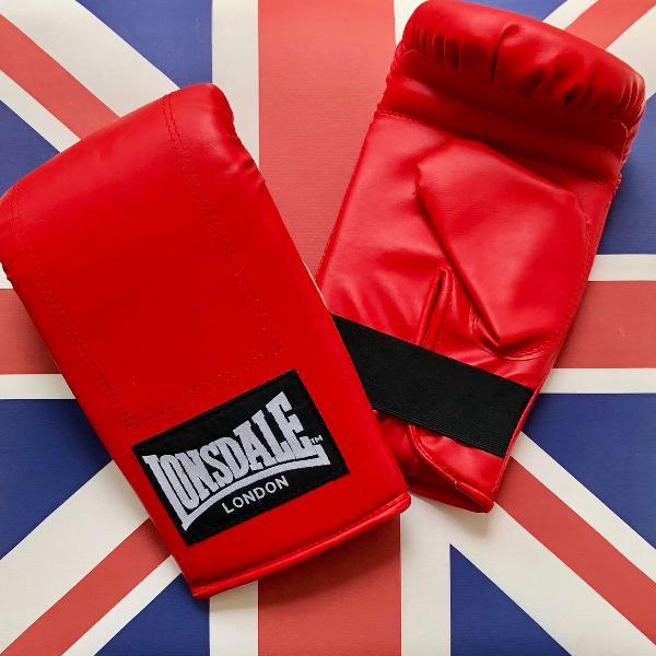 Lonsdale london luva boxe vermelha nova