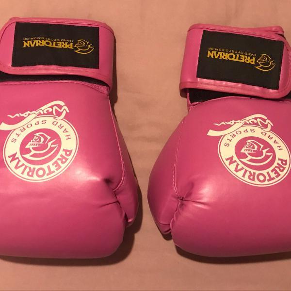 Luva de boxe pretorian 14oz rosa