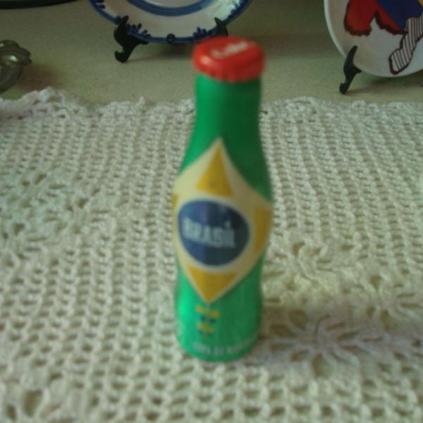 Mini garrafinha brasil coca cola copa 2014