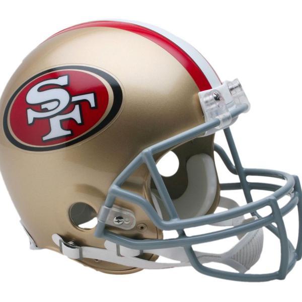 Mini helmet capacete san francisco 49ers nfl riddell