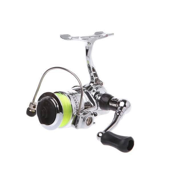 Mini molinete xm100 com 2 rolamentos de esferas