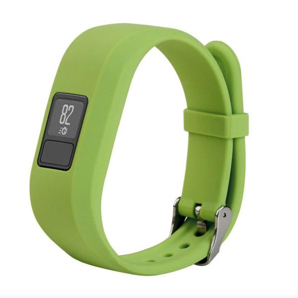 pulseira avulsa vivofit 3 silicone verde