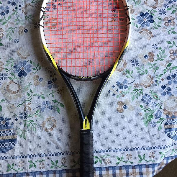 Raquete de tenis wilson profissional