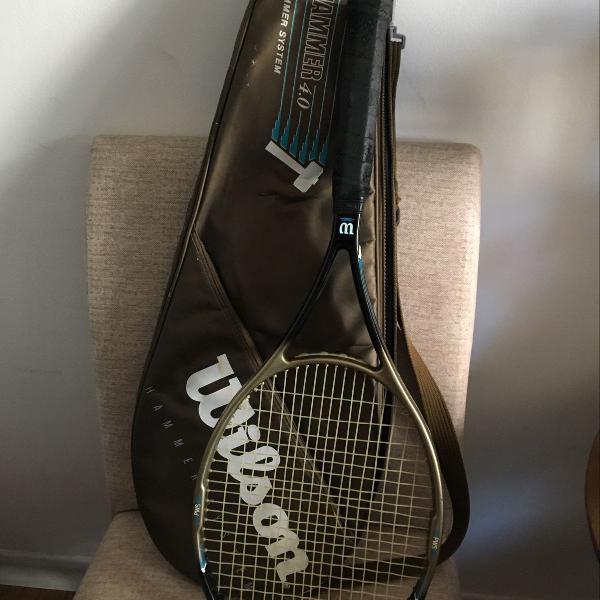 Raquete de tênis wilson hammer 4.0 para iniciantes