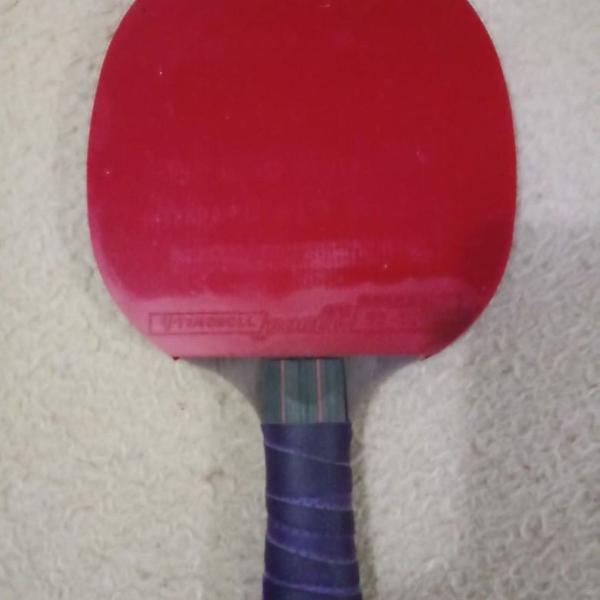 Raquete para tênis de mesa carbono