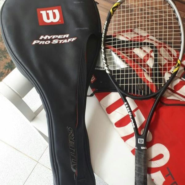 Raquete tenis rollers