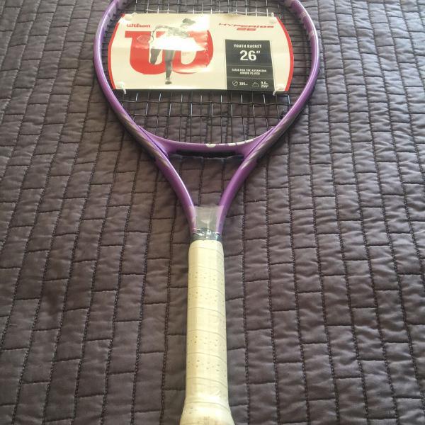 Raquete wilson lilás